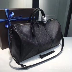 ISO Louis Vuitton keepall 45 in black monogram